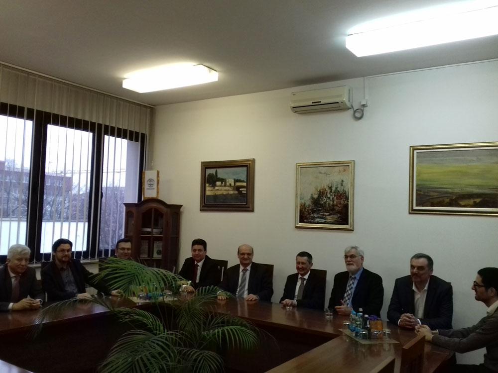 Састанак са делегацијом Правног факултета у Београду