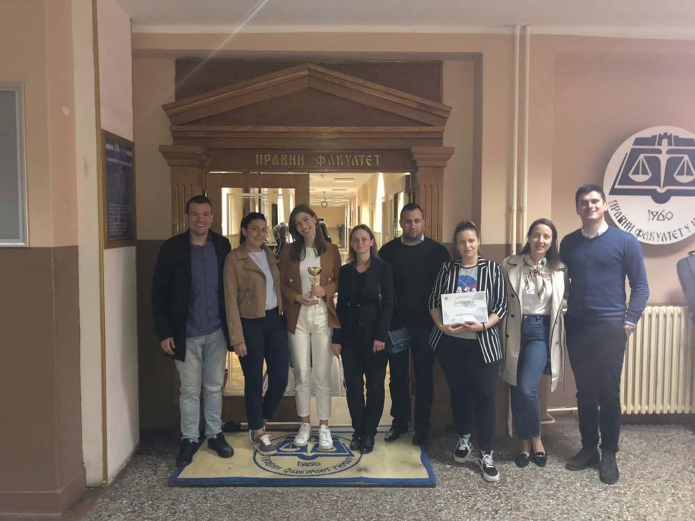 Студенти Правног факултета освојили двије награде у Нишу
