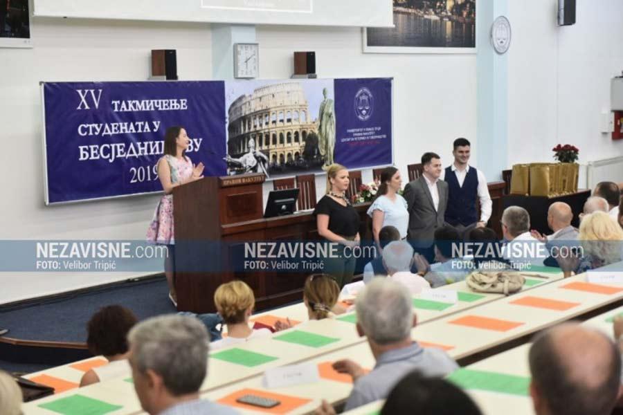 Никола Дупер однио награду публике за најбољу бесједу