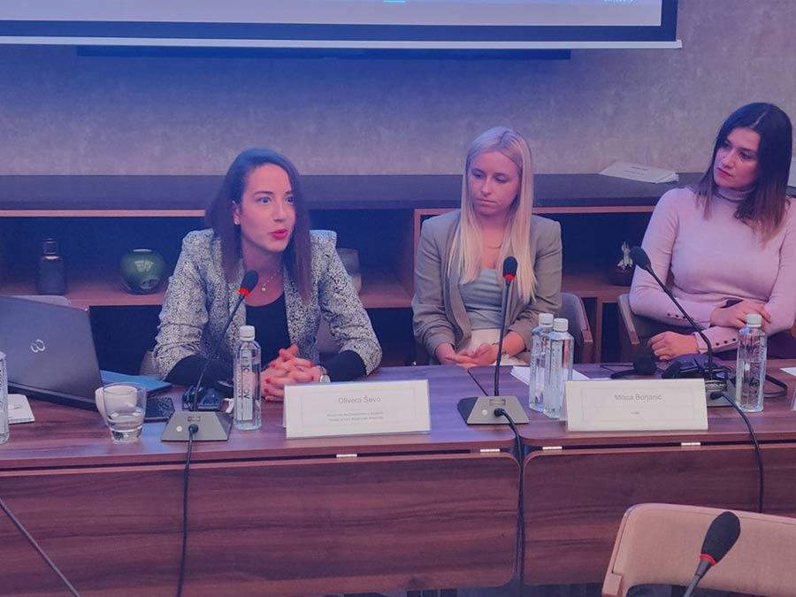 Асистентица Оливера Шево учествовала на Регионалној конференцији ОЕБС-а о едукацији о кривичним дјелима почињеним из мржње