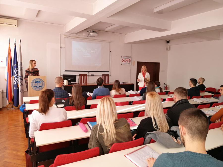 Активности студената Правног факултета у оквиру 16 дана активизма против насиља над женама