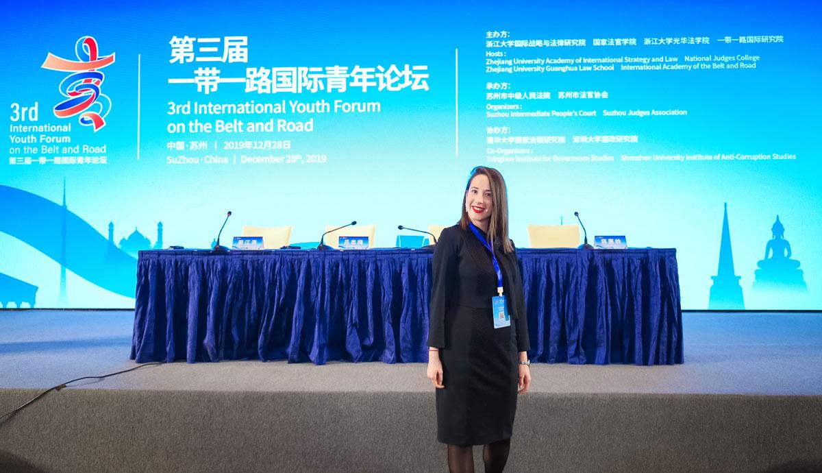 """Асистентица Оливера Шево учесник """"International Youth Forum on Belt and Road"""" у Кини"""