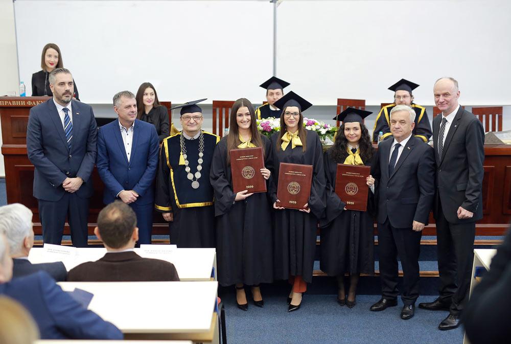 Обиљежено 45 година рада и развоја Правног факултета