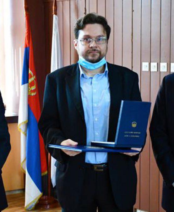 Правном факултету додијељен Знак Правног факултета у Нишу